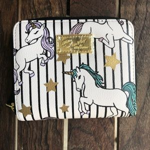 Luv Betsey Johnson Unicorn wallet